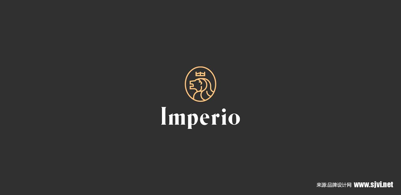狮子logo设计//娱乐机构品牌设计案例/黑色vi设计图片