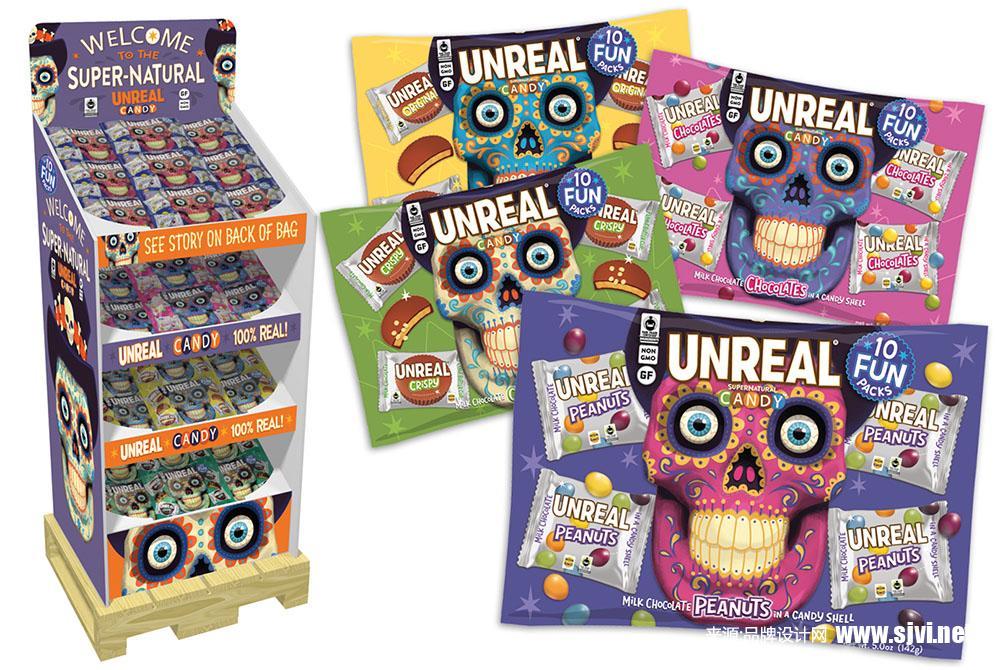 食品公司包装设计/卡通食品包装设计/可爱糖果包装设计