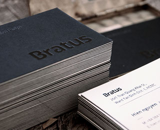 Bratus Business card 名片设计