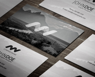 Business card and identity
