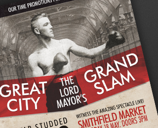 Great City Grand Slam Poster