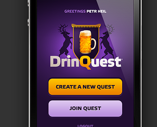 DrinQuest / Mobile Interface